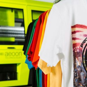 aeoon industrial garment printer