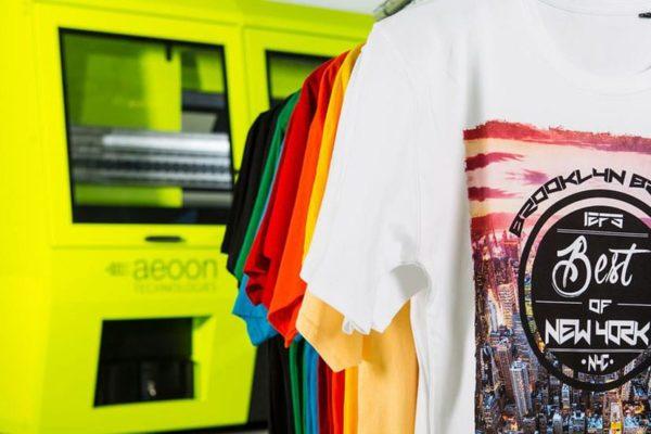 aeoon industrial garment printer