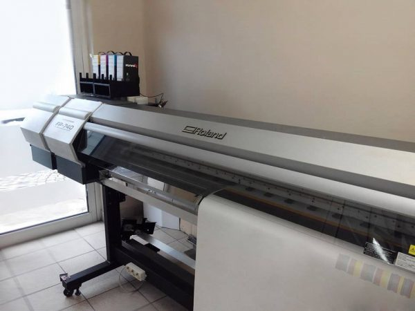 roland fp-740 dye sublimation printer
