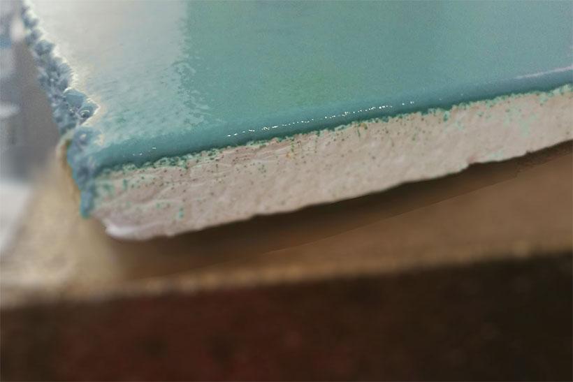 coated foam cutting material