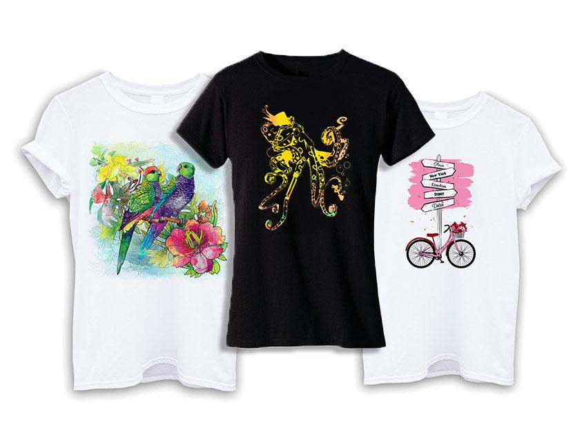 t-shirt printing examples