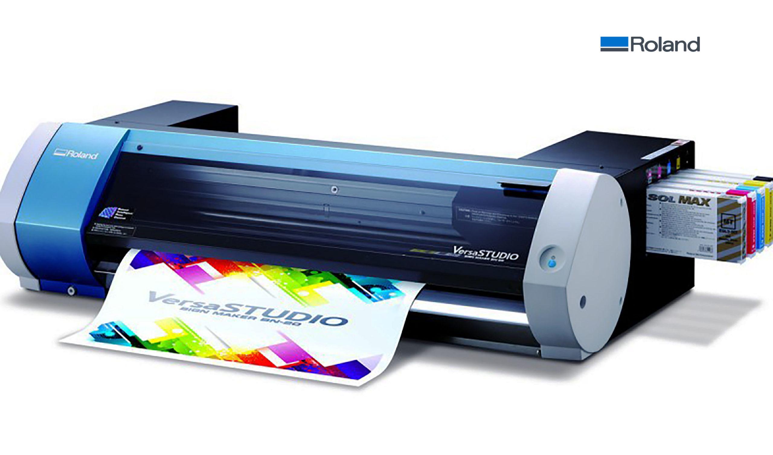 Roland Bn 20 Print Cut Machine Sixcolors