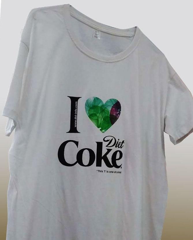 t-shirt dst print
